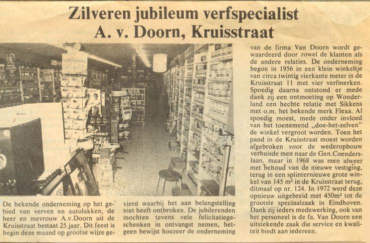 25 jaar winkelverkoop