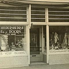 Onze eerste winkel