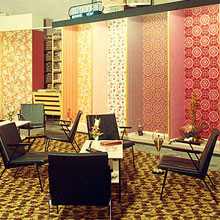 De showroom in 1972