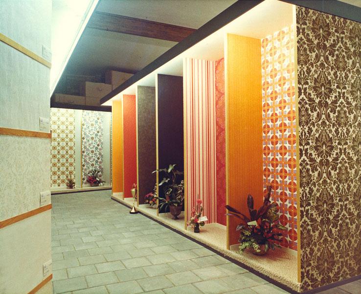 opening behangtoonzaal