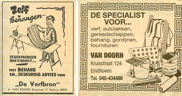 van Doorn advertenties