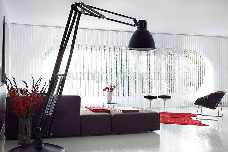 vertikale lamellen binnenzonwering online bestellen bij. Black Bedroom Furniture Sets. Home Design Ideas
