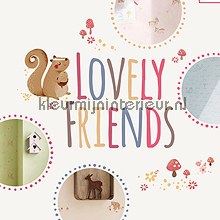 AS Creation Lovely Friends papel pintado