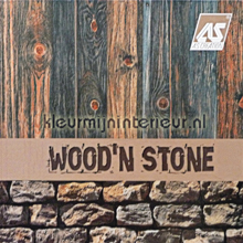 behang Wood n Stone