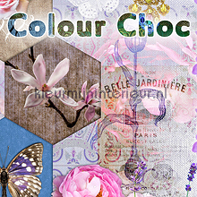 fotobehang Colour Choc