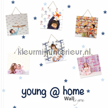 wallcovering Young at home