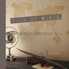 behang Tour du Monde