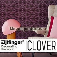 fotobehang Clover