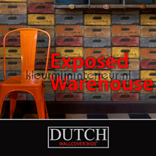 Dutch Wallcoverings Exposed Warehouse behang