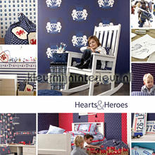 Esta for Kids Hearts and Heroes papier peint