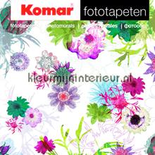 fotobehang Floral