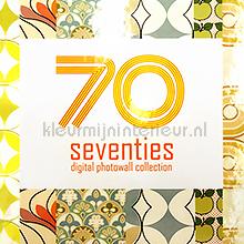 fotobehang Seventies