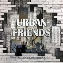 Noordwand Urban friends papel pintado