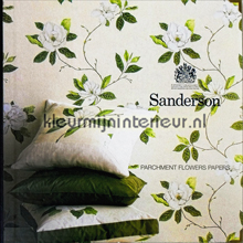 Sanderson Parchment Flowers behang collectie
