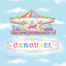 Dutch Wallcoverings Carousel behang