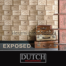 Dutch Wallcoverings Exposed behang