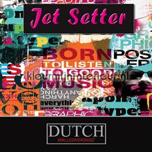 Dutch Wallcoverings Jet Setter behang