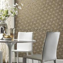 York Wallcoverings Antonina Vella Mixed Metals papel pintado
