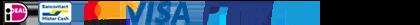 ideal mastercard paypal visa