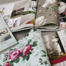 Behangboek romantisch / bloemen tapeten Kleurmijninterieur tapetenpaket