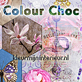 Colour Choc fotobehang