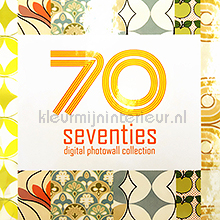Seventies fotobehang