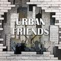 Urban friends papel pintado