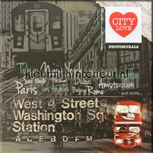 City Love fotobehang