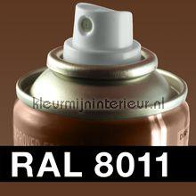 Spuitbus RAL 8011 Noten Bruin autolak DupliColor RAL spuitbus sneldrogend