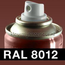 Spuitbus RAL 8012 Roodbruin autolak DupliColor RAL spuitbus sneldrogend
