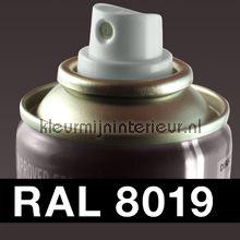 Spuitbus RAL 8019 Grijsbruin autolak DupliColor RAL spuitbus sneldrogend
