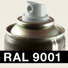 Spuitbus RAL 9001 Creme-Wit autolak DupliColor RAL spuitbus sneldrogend