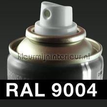 Spuitbus RAL 9004 Signaal Zwart autolak DupliColor RAL spuitbus sneldrogend