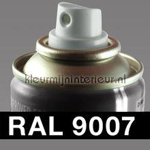 Spuitbus RAL 9007 Grijs Aluminium autolak DupliColor RAL spuitbus sneldrogend