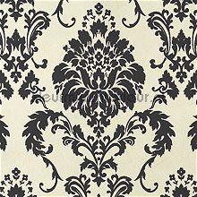 Klassiek zwart papier peint wallpaperkit