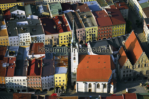 Wasserburg photomural 470091 AP Digital Architects Paper