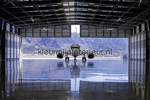 My Hangar photomural 470095 AP Digital Architects Paper