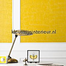 Big Croco lila papel pintado Elitis Wallpaper creations