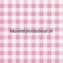 Roze ruit papier peint Noordwand wallpaperkit