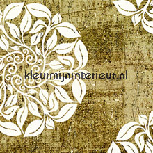 Kurk met witte ornament print tapet Carl Robinson Carl Robinson CB12203