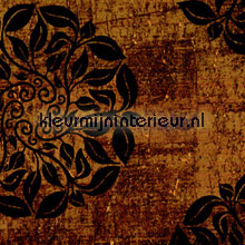 Kurk met donkere ornament print tapet Carl Robinson Carl Robinson CB12205
