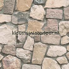 Gestapelde stenen muur tapeten AS Creation Dekora Natur 6 6924-12