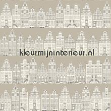 Dutch houses tapet Esta home Denim and2 co 137713
