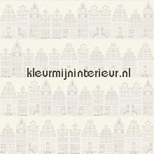 Dutch houses tapet Esta home Denim and2 co 137716