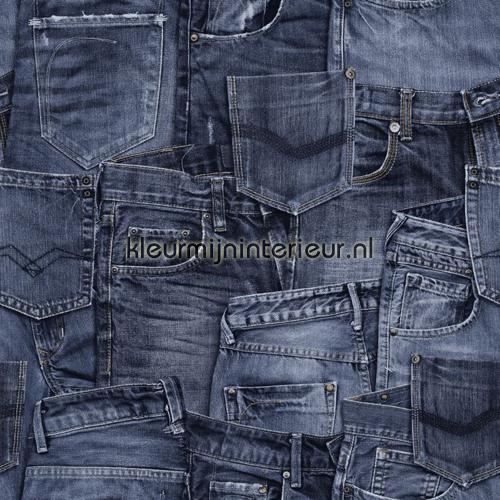 Many Jeans 137736 Behang Denim Co Esta Home