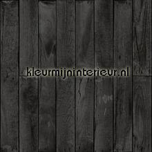 zwart hout tapet Esta home Denim and2 co 137745