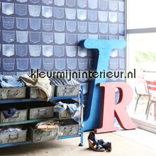 Spijkerzakken papel pintado Esta home Wallpaper creations