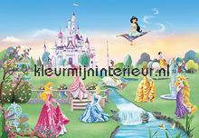 Princess Castle fotobehang Komar Disney-kids 8-414