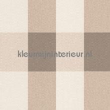 Linnen look ruit beige tapeten AS Creation Collected 206336