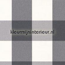 Linnen look ruit grijs wit tapeten AS Creation Collected 206367